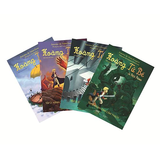 Combo Bộ Sách Hoàng Tử Bé (4 Tập)