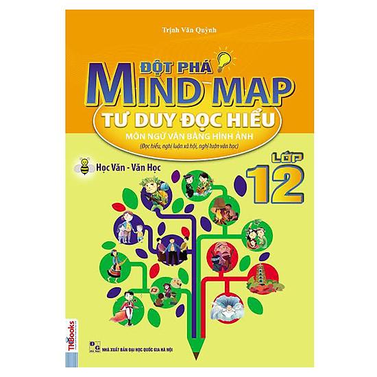 Đột Phá Mindmap – Tư Duy Đọc Hiểu Môn Ngữ Văn Bằng Hình Ảnh Lớp 12
