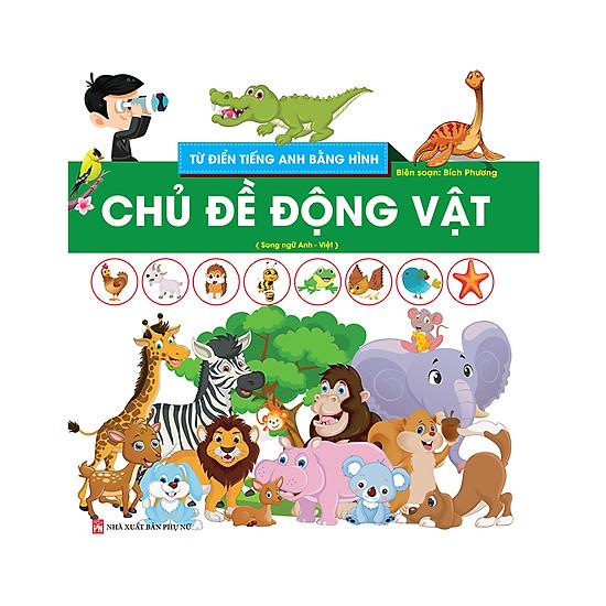 Download sách Từ Điển Tiếng Anh Bằng Hình - Chủ Đề Động Vật