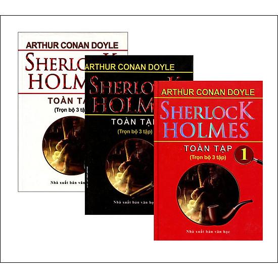 [Download Sách] Sherlock Holmes Toàn Tập (Trọn Bộ 3 Tập) - Minh Thắng