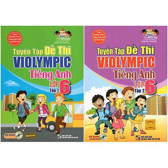 Combo Trọn Bộ Tuyển Tập Violympic Tiếng Anh Lớp 6 (Tặng Kèm Sách Truyện Song Ngữ Anh – Việt)