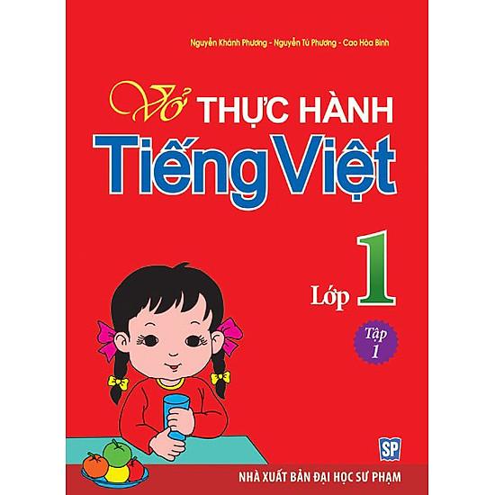 Vở Bài Tập Thực Hành Tiếng Việt Lớp 1 - Tập 1