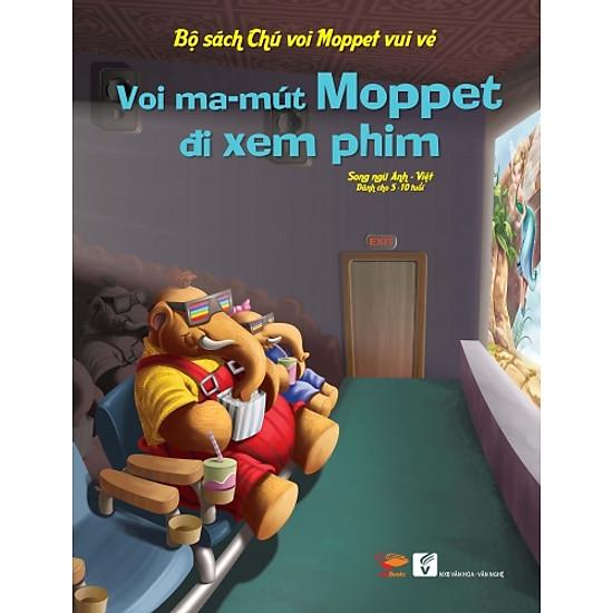 Bộ Sách Chú Voi Moppet Vui Vẻ – Voi Ma-mut Moppet Đi Xem Phim