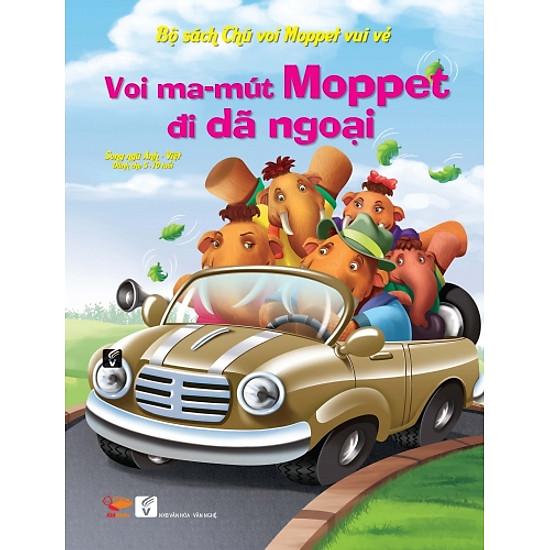 Bộ Sách Chú Voi Moppet Vui Vẻ – Voi Ma-mut Moppet Đi Dã Ngoại