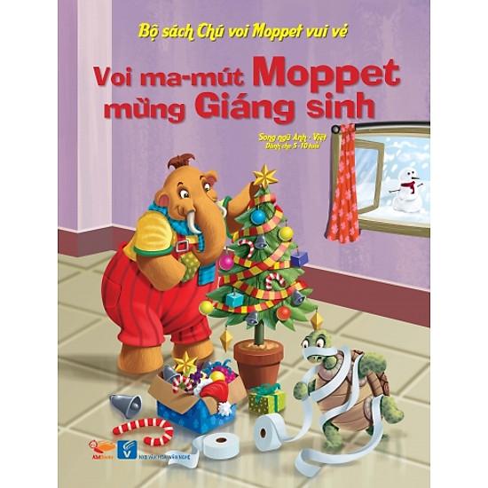 Bộ Sách Chú Voi Moppet Vui Vẻ – Voi Ma-mut Moppet Mừng Giáng Sinh