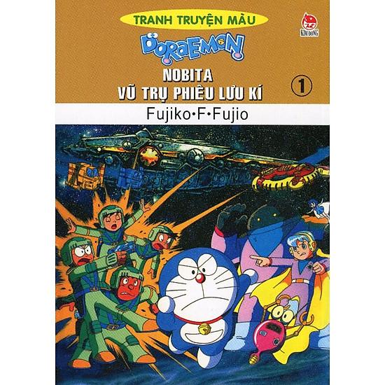 Nobita Vũ Trụ Phiêu Lưu Kí – Tập 1 (Truyện Tranh Màu)