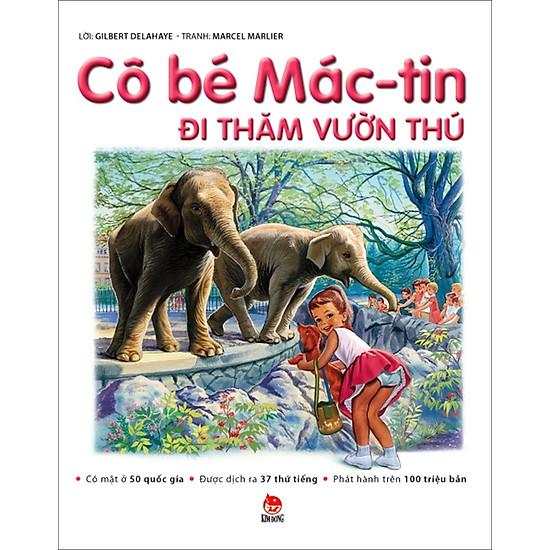 [Download Sách] Cô Bé Mác-tin Đi Thăm Vườn Thú