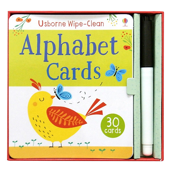 Wipe-clean Cards: Alphabet Cards