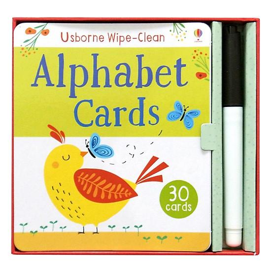 Wipe-clean Cards: Alphabet Cards