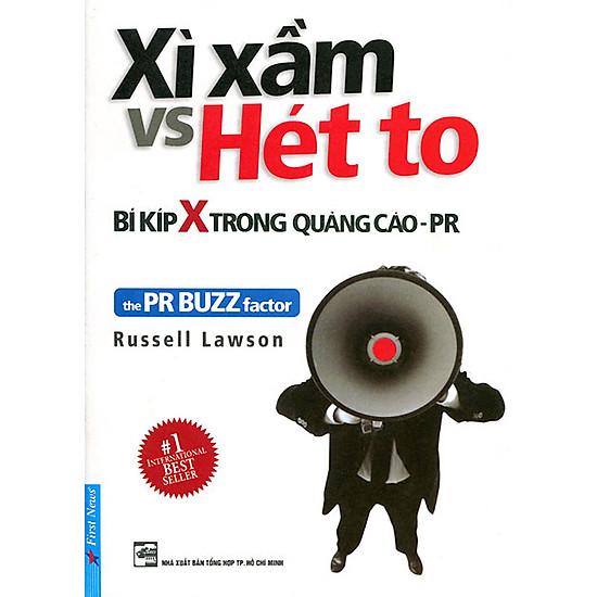 [Download sách] Xì Xầm Vs Hét To - Bí Kíp X Trong Quảng Cáo PR
