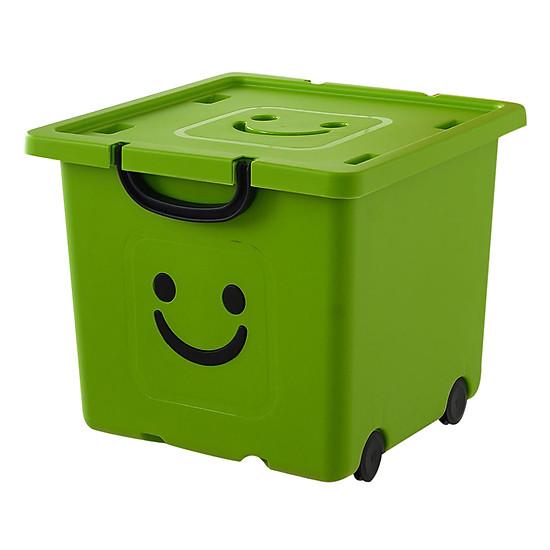 Thùng Nhựa Happy Box Yuwon PS YW-04 - Xanh Lá Cây Đậm (Size Vừa) ...