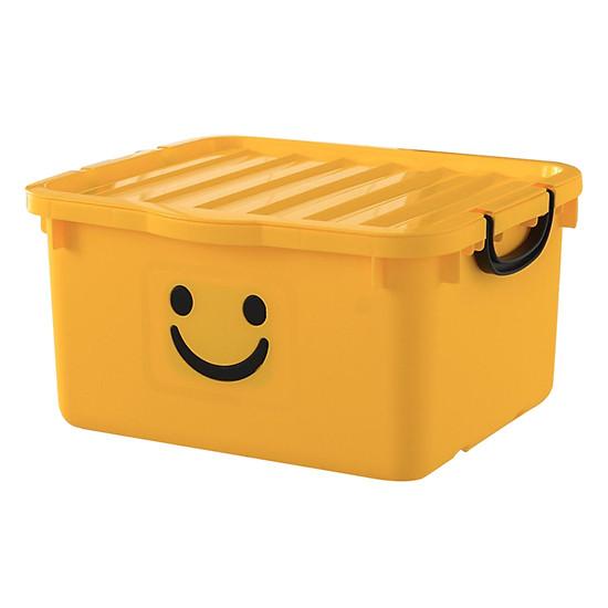 Thùng Nhựa Happy Box Yuwon PS YW-11 - Vàng Đậm (Size Lớn)