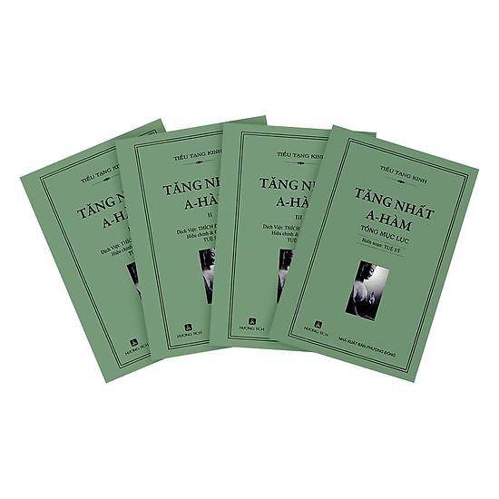 Tiểu Tạng Kinh Tăng Nhất A Hàm (Bộ 4 Quyển)