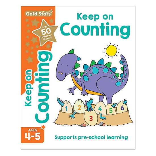 Gold Stars - Keep On Counting Ages 4-5