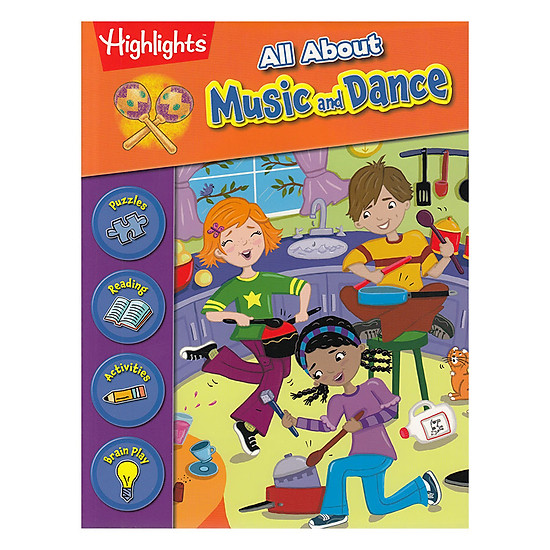 [Download Sách] All About Music And Dance - English