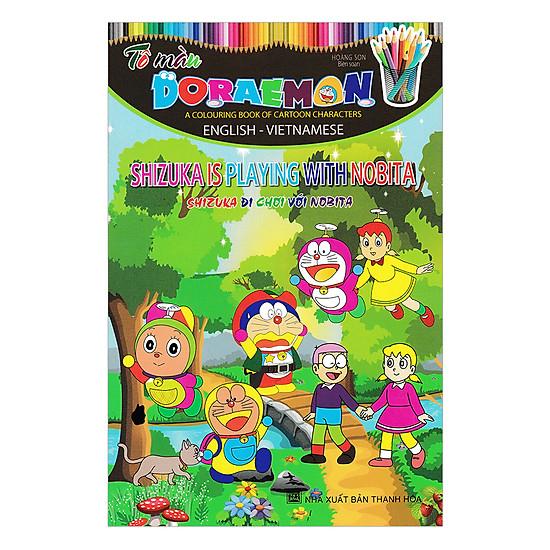 [Download Sách] Tô Màu Doraemon - Shizuka Đi Chơi Với Nobita