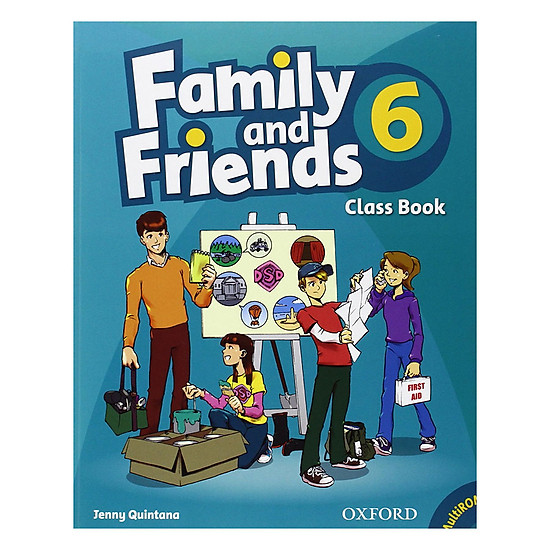 Family And Friends (Bre) (1 Ed.) 6: Class Book And Multirom Pack