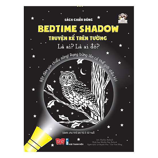[Download Sách] Sách Chiếu Bóng - Bedtime Shadow – Truyện Kể Trên Tường - Là Ai? Là Ai Đó?