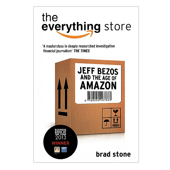 [Download Sách] The Everything Store: Jeff Bezos And The Age Of Amazon (Paperback)