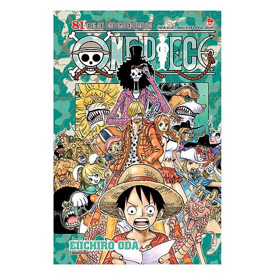 One Piece - Tập 81 (Bản Bìa Rời)