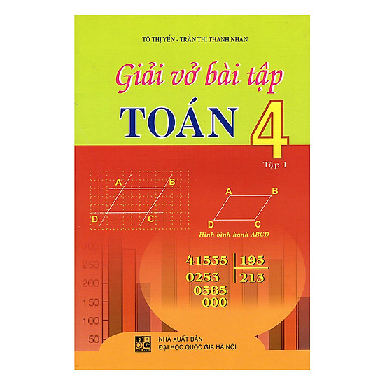 Download sách Giải Vở Bài Tập Toán Lớp 4 (Tập 1) - Tái Bản