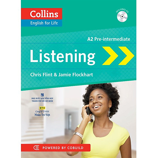 Collins - Listening A2 Pre-Intermediate (Tái Bản)