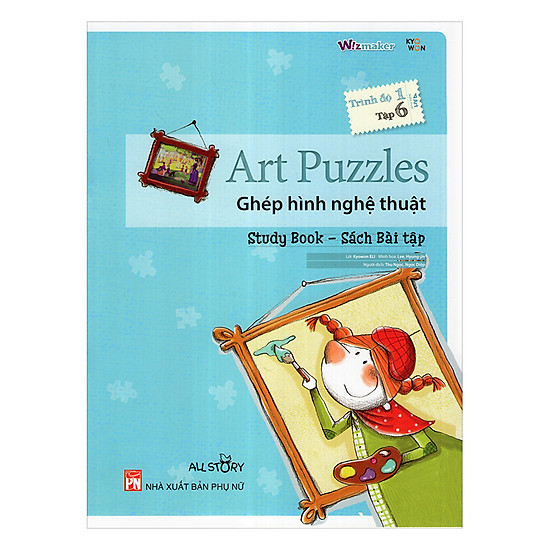 All Story - Art Puzzles - Ghép Hình Nghê Thuật- Trình Độ 1 (Tập 6)