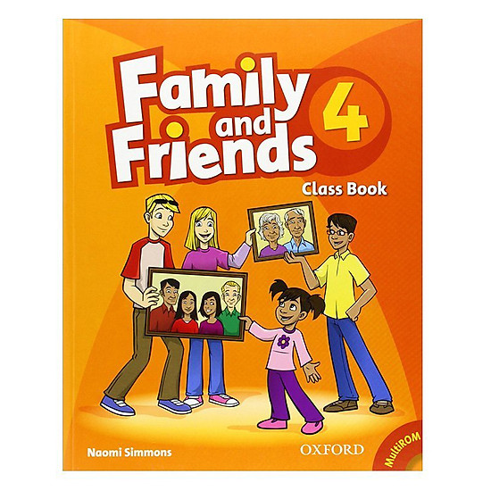 Family And Friends (Bre) (1 Ed.) 4: Class Book And Multirom Pack