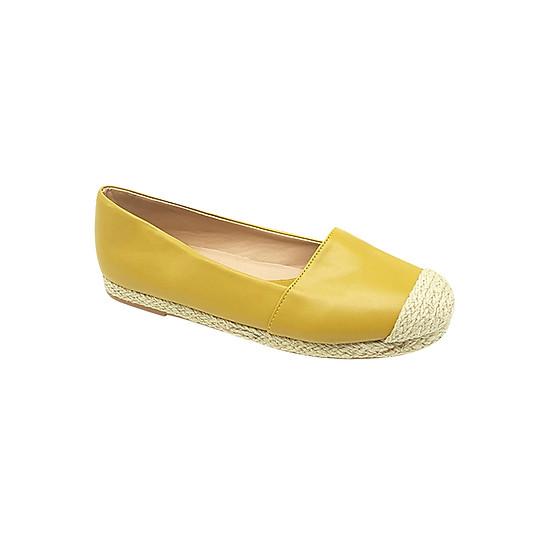 Giày Búp Bê Mũi Bọc Cói Sulily B27 - Vàng