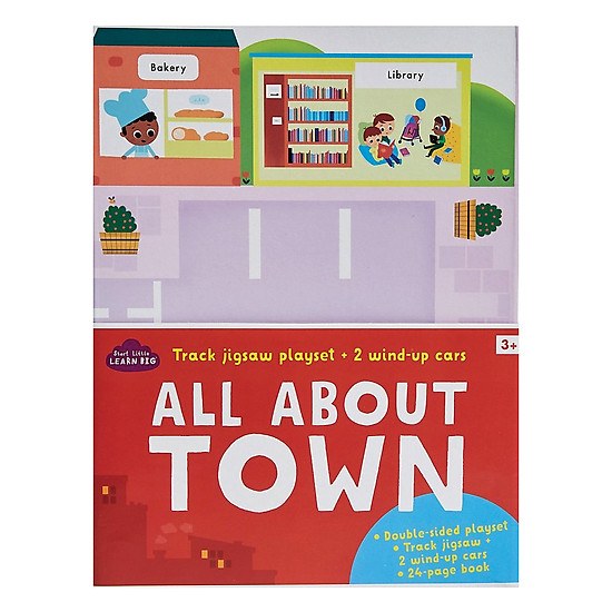 Start Little Learn Big - All About Town Track Jigsaw