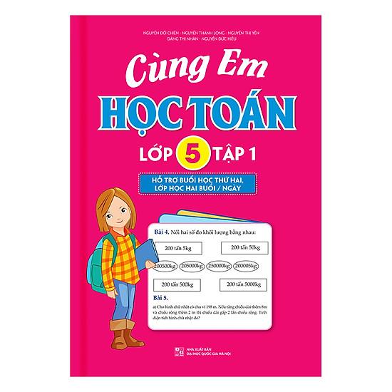 [Download sách] Cùng Em Học Toán - Lớp 5 (Tập 1)