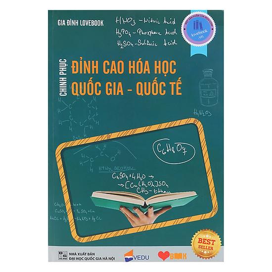 [Download Sách] Chinh Phục Đỉnh Cao Hóa Học Quốc Gia - Quốc Tế