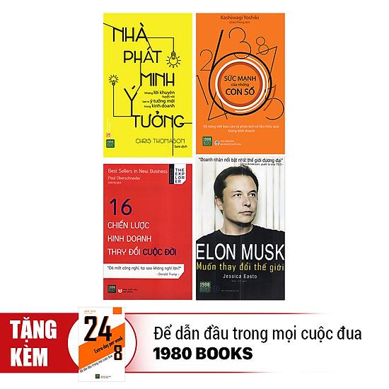 [Download Sách] Combo Khởi Nghiệp Như Elon Musk: Đam Mê, Sáng Tạo Và Thực Tế (Tặng Kèm 1 Cuốn 24/8 - Để Dẫn Đầu Trong Mọi Cuộc Đua)