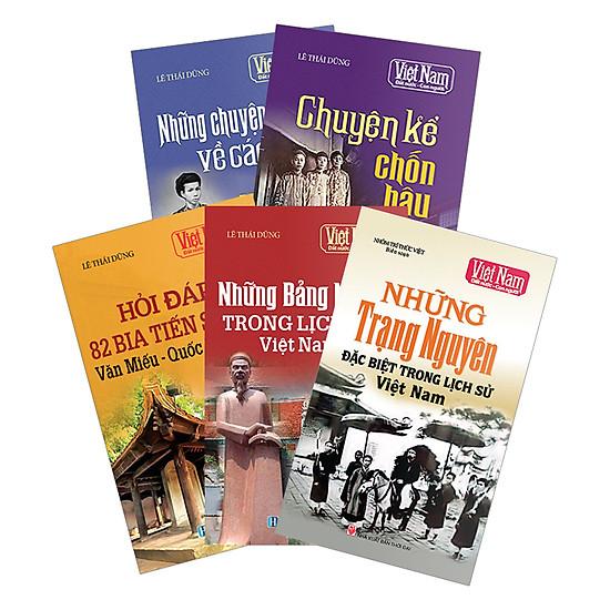 Hình ảnh download sách Combo Tủ Sách Việt Nam Đất Nước Con Người Phần 3 (Bộ 5 Cuốn)