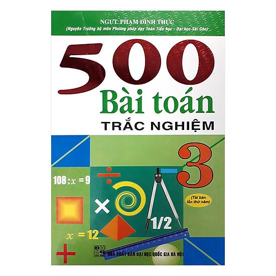 500 Bài Toán Trắc Nghiệm 3
