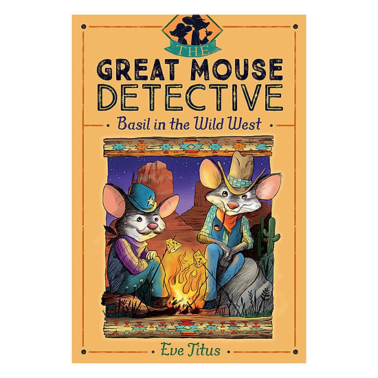 [Download sách] The Great Mouse Detective - Book 4: Basil In The Wild West