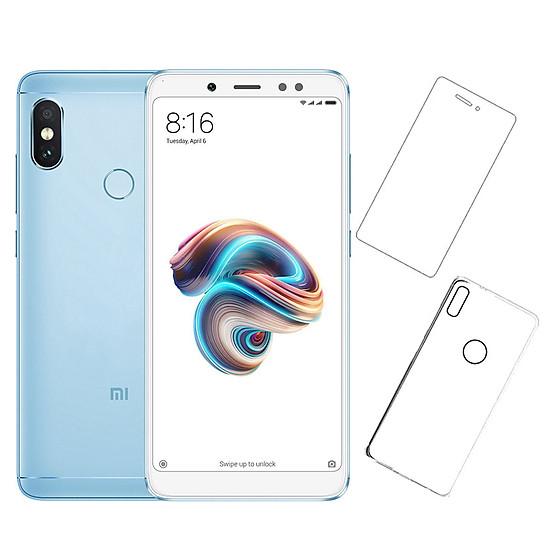 Bộ Điện Thoại Xiaomi Redmi Note 5 Pro (32GB/3GB) + Miếng Dán Cường Lực + Ốp Lưng – Hàng Nhập Khẩu Đang Bán Tại Khang Nhung Mobile