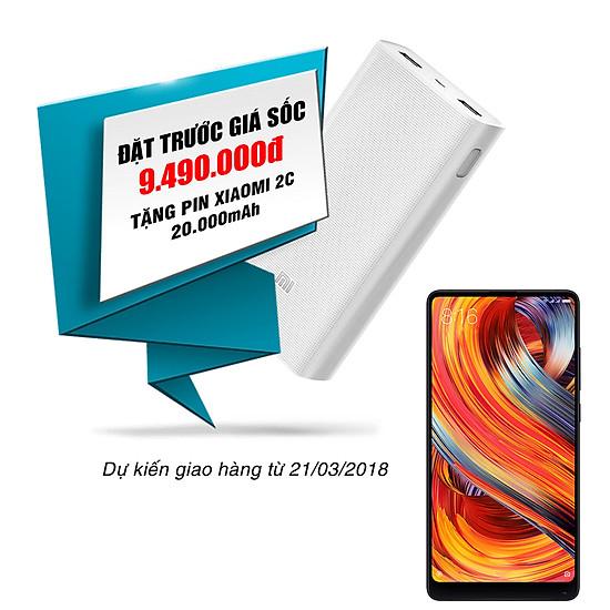 Điện Thoại Xiaomi Mi Mix 2 (Black) - Hàng Chính Hãng DGW