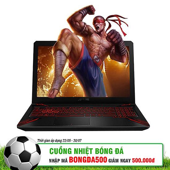 Laptop Asus ROG TUF Gaming FX504GD-E4081T Core i7-8750H/Win10 (15.6 inch) - Black - Hàng Chính Hãng