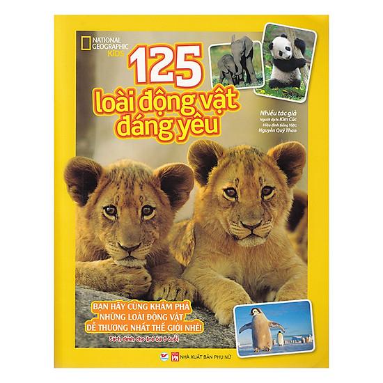 [Download sách] 125 Loài Động Vật Đáng Yêu