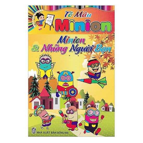 [Download sách] Tô Màu Minion Và Những Người Bạn