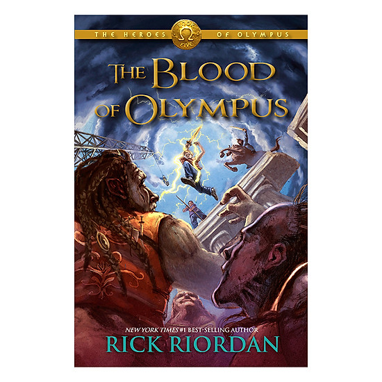 [Download Sách] The Heroes Of Olympus 5: The Blood Of Olympus