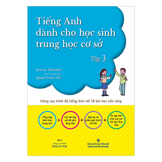 Tiếng Anh Dành Cho Học Sinh Trung Học Cơ Sở (Tập 3)