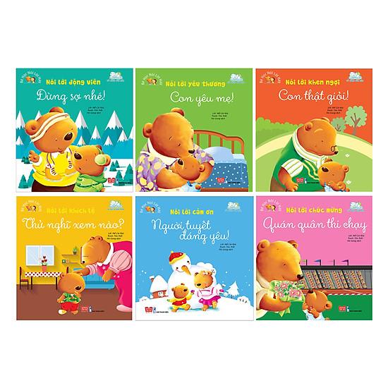Hình ảnh download sách Combo Bé Học Nói Lời Hay (6 Quyển)