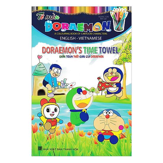 Download sách Tô Màu Doraemon - Khăn Trùm Thời Gian Của Doraemon
