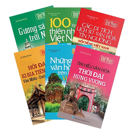 [Download sách] Combo Tủ Sách Việt Nam Đất Nước Con Người Phần 4 (Bộ 6 Cuốn)