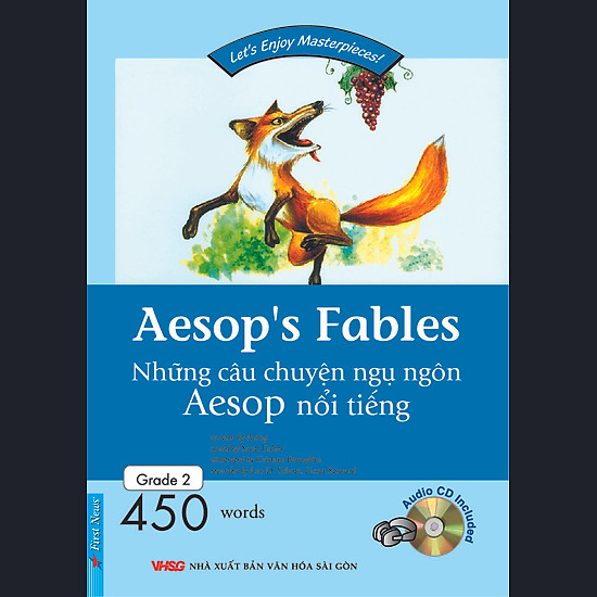 [Download Sách] Happy Reader - Aesop's Fables (Kèm CD) - Tái Bản