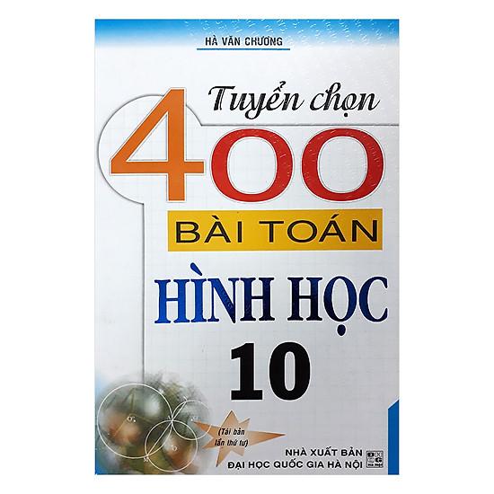 Tuyển Chọn 400 Bài Toán Hình Học 10