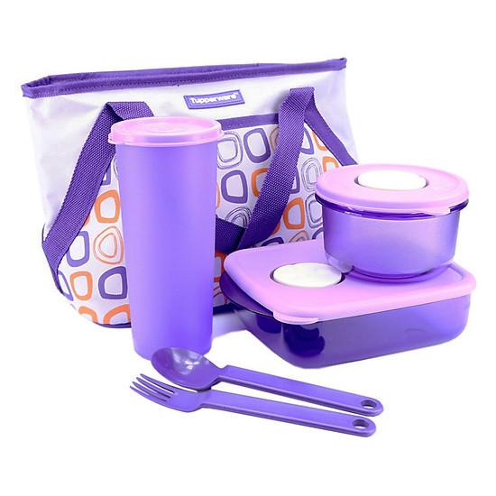 Bộ Hộp Cơm Tupperware Cosmo Violet
