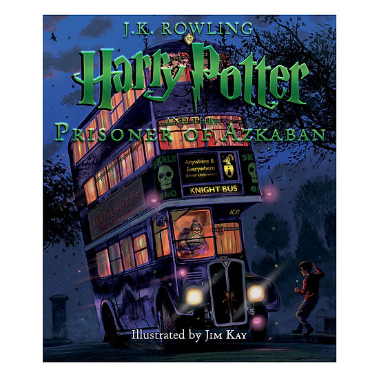 [Download Sách] Harry Potter And The Prisoner Of Azkaban: The Illustrated Edition (Harry Potter, Book 3)